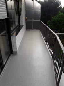 Balkonsanierung mit Fliesamierung