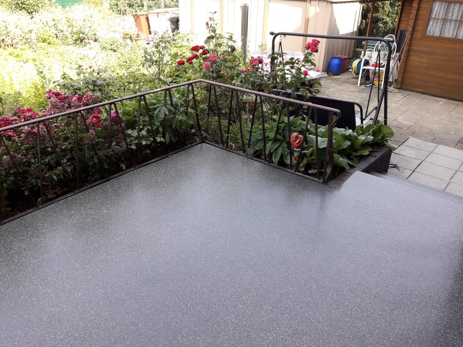 Terrassensanierung mit Flüssigkunststoff in Willich