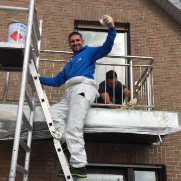 Abdichtungsschicht mit Flüssigkunststoff im Detail – Balkonsanierung in Straelen