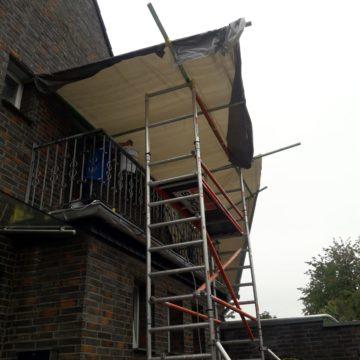 Balkonsanierung mit Flüssigkunststoff in Kamp-Lintfort