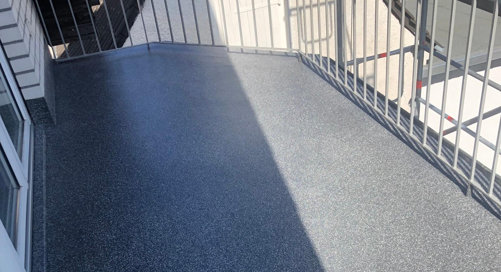 Balkonsanierung in Duisburg – Estrich aus Zementfaserplatten